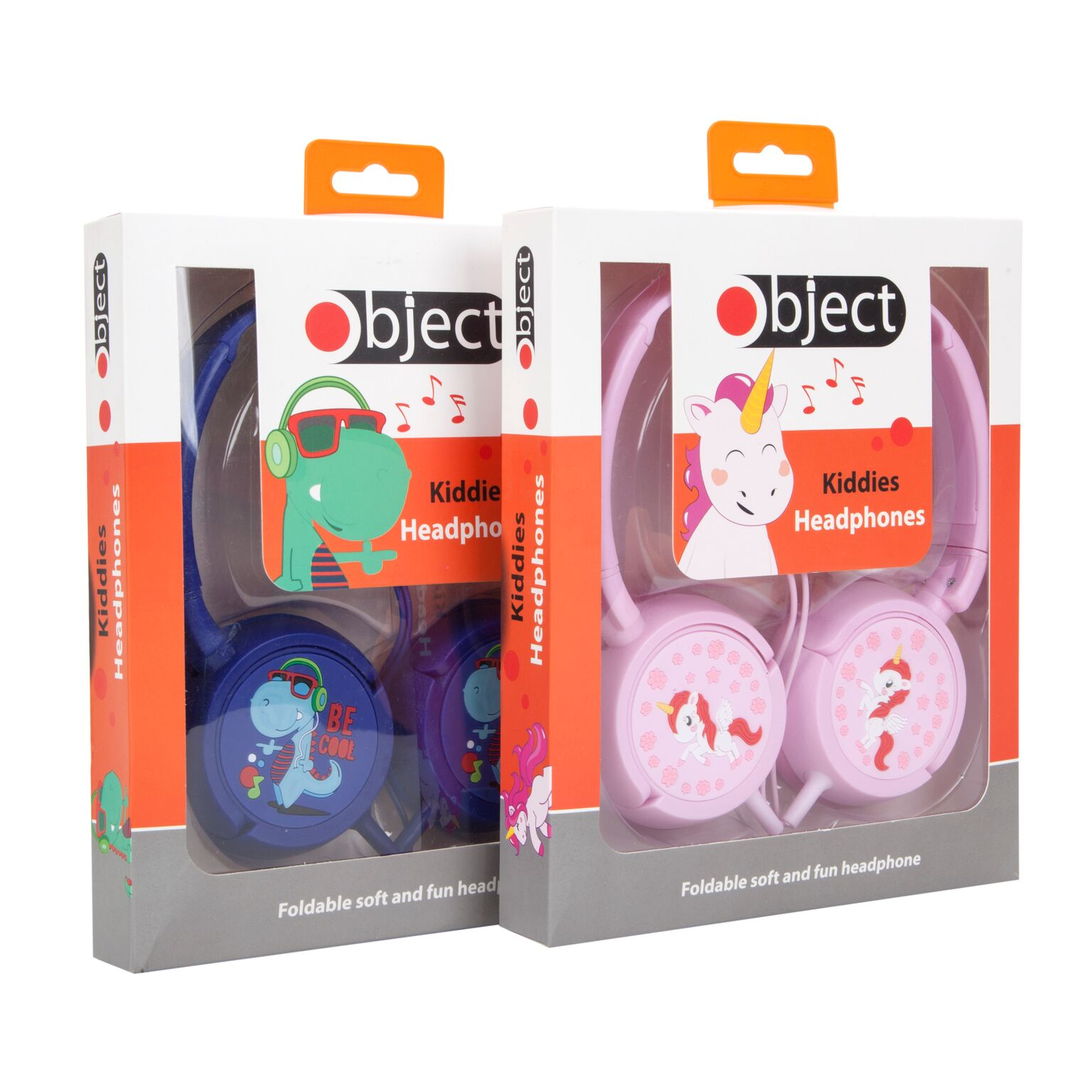 Kids Over Ear Headphones Earphone For iPad/Tablet Pink or Blue