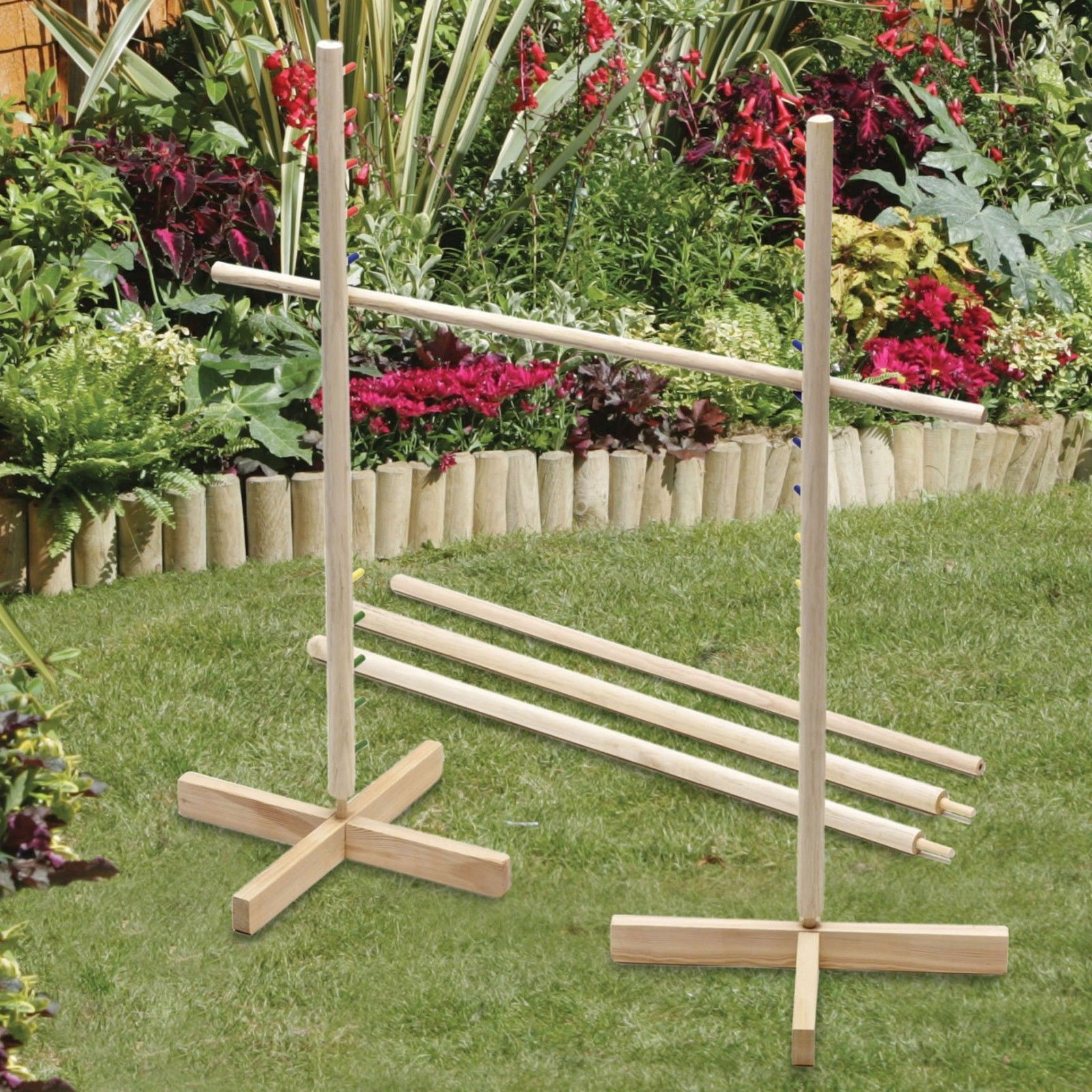 Wooden Limbo Game Giant Garden Games Outdoor Summer Beach Play