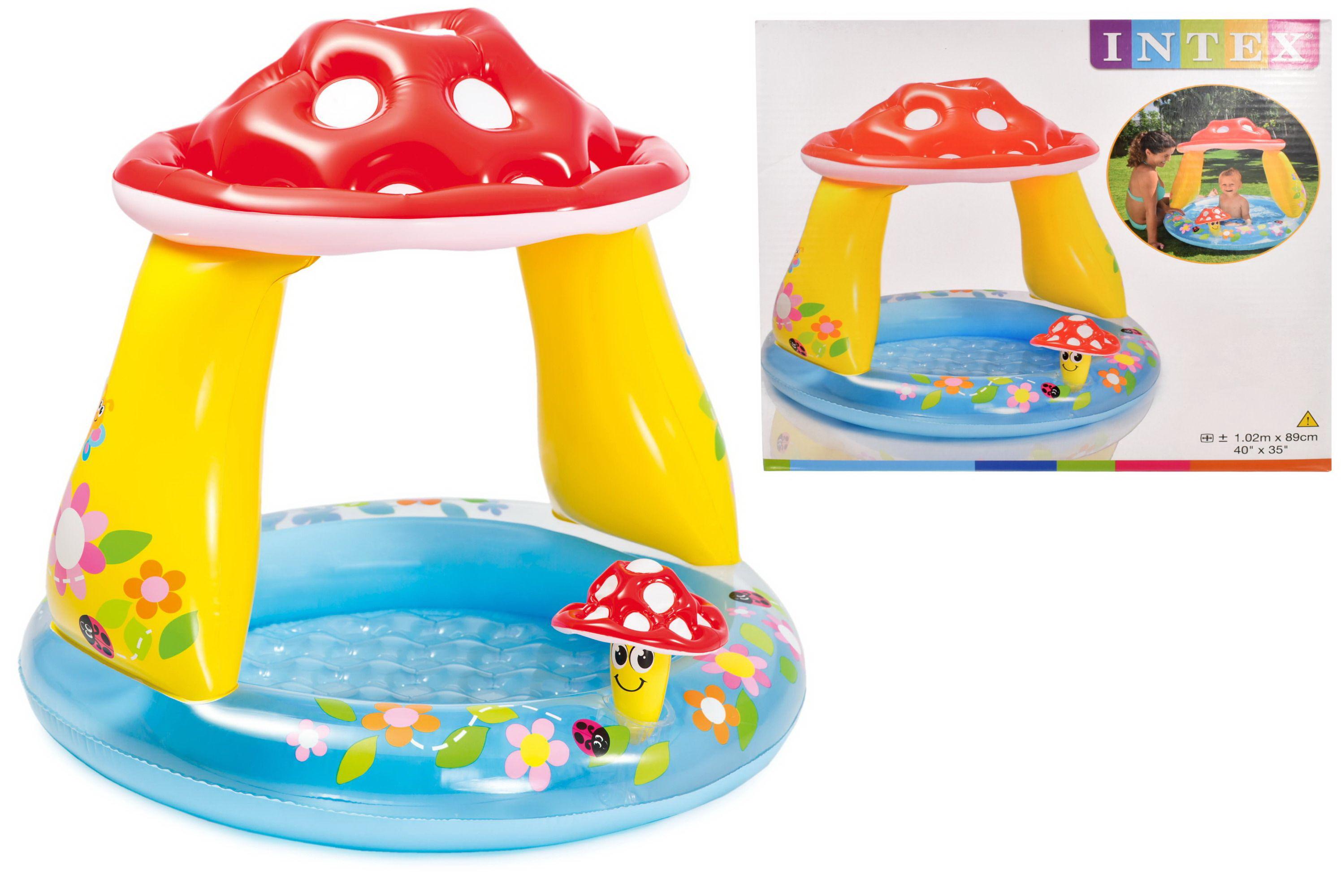 Intex Mushroom Baby Inflatable Pool Summer Sea Swim Water Beach Kids Fun