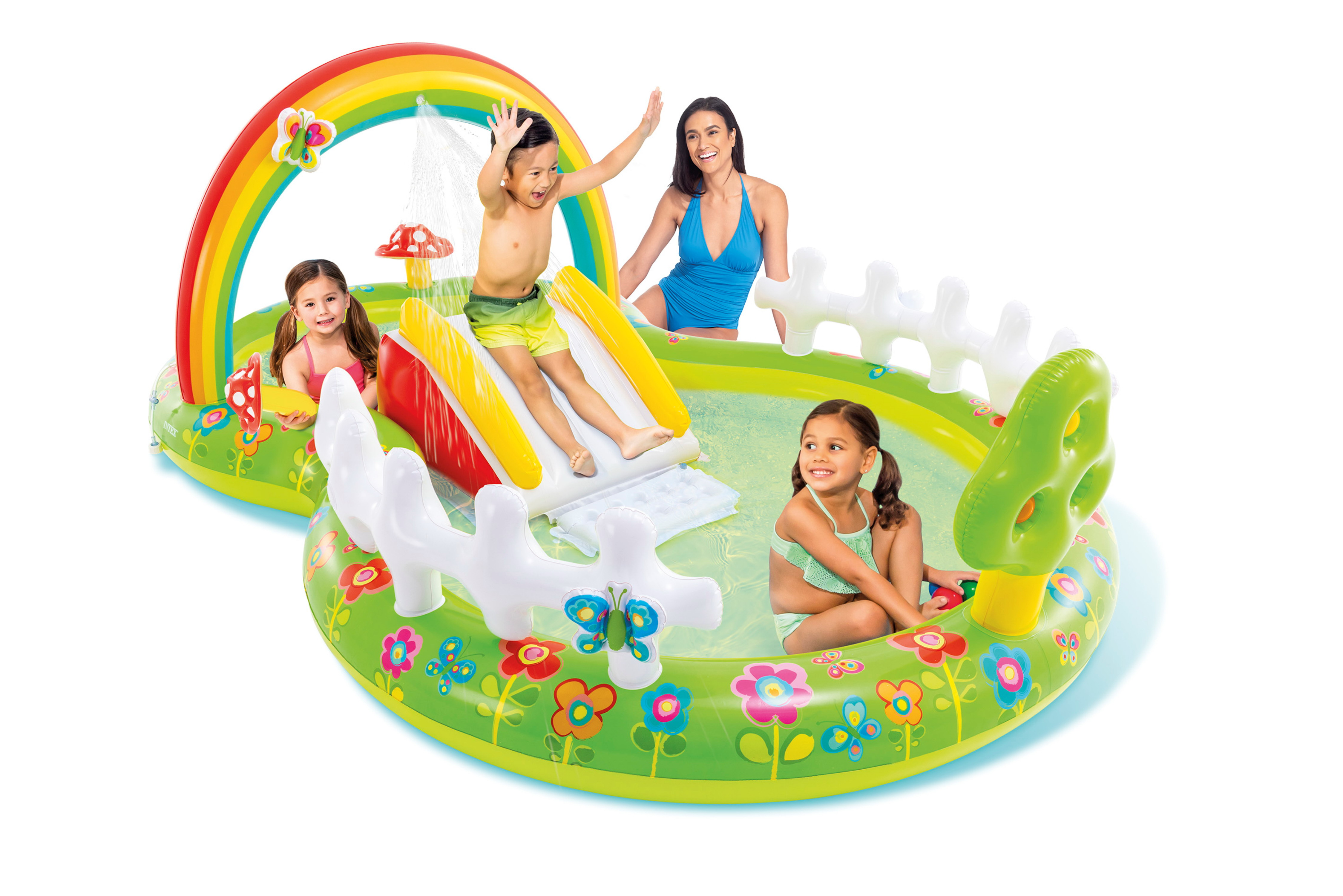 Intex Candy Zone Play Centre Kids Inflatable Garden Fun Outdoor Paddling Pool